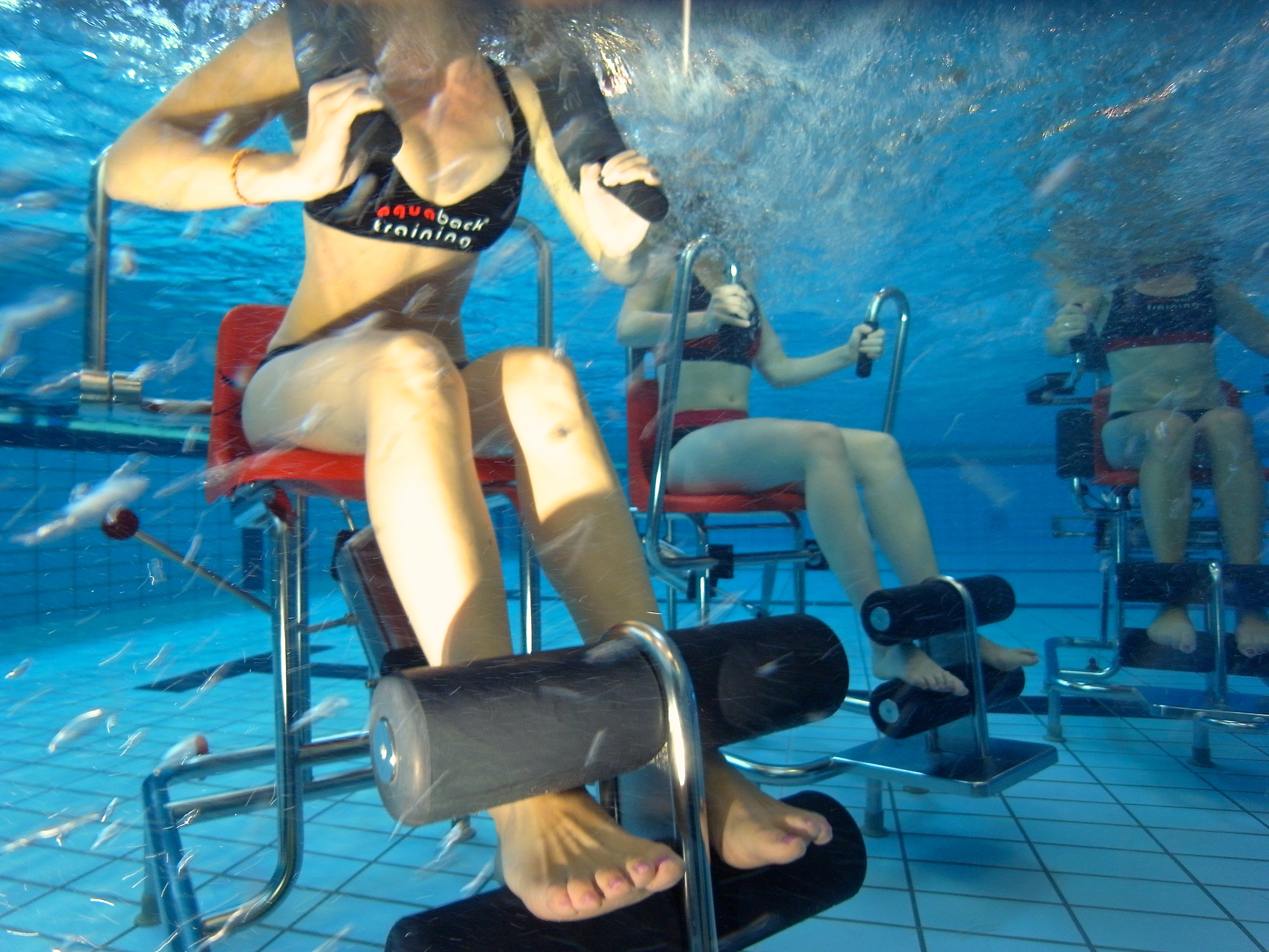 Aquaback-Kurse in der GraftTherme