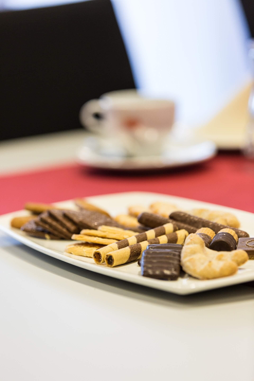 Das Catering im Konferenzraum übernimmt auf Wunsch die Gastronomie der GraftTherme.