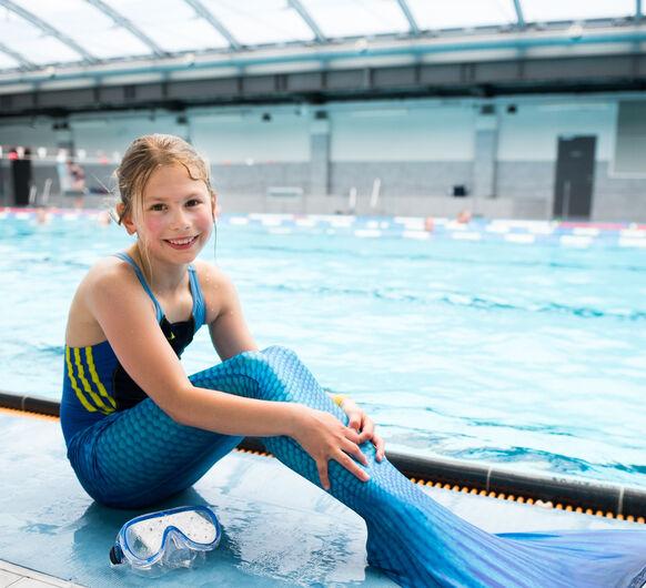 Neue Termine: Meerjungfrauenschwimmen